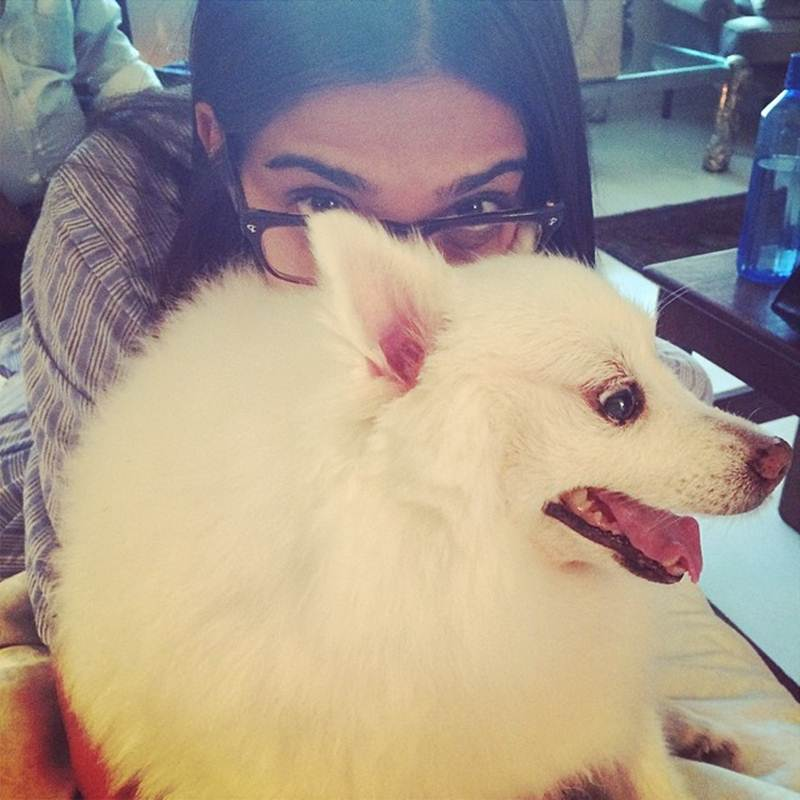 These Celeb Pet Selfies are so cute they will melt your heart right out!- Sonam 1