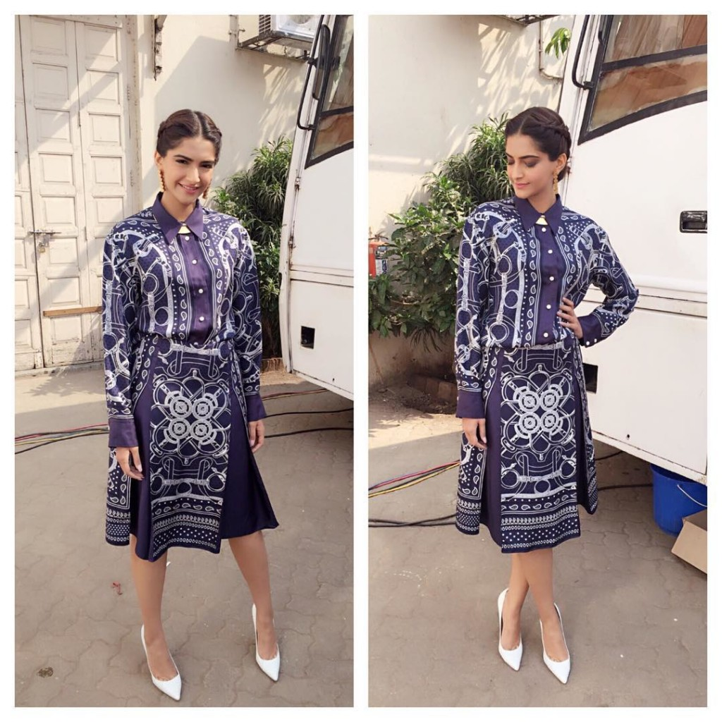 Sonam Kapoor Fashion Files during Neerja Promotions- Sonam 10