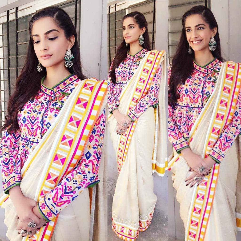 Sonam Kapoor Fashion Files during Neerja Promotions- Sonam 12