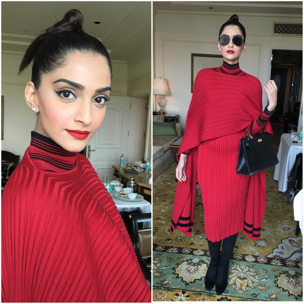 Sonam Kapoor Fashion Files during Neerja Promotions- Sonam 2