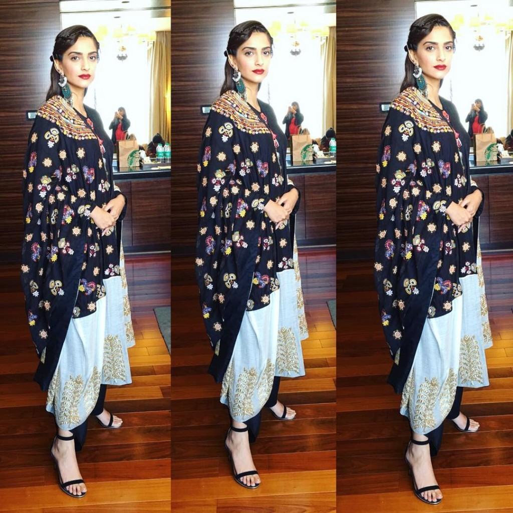 Sonam Kapoor Fashion Files during Neerja Promotions- Sonam 7