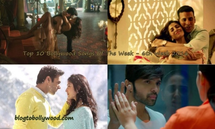 Top 10 Bollywood Songs of the Week - Week 6th 2016 - 6 Feb 2016