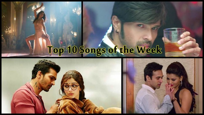 Top 10 Bollywood Songs of the Week 15-Feb-2016