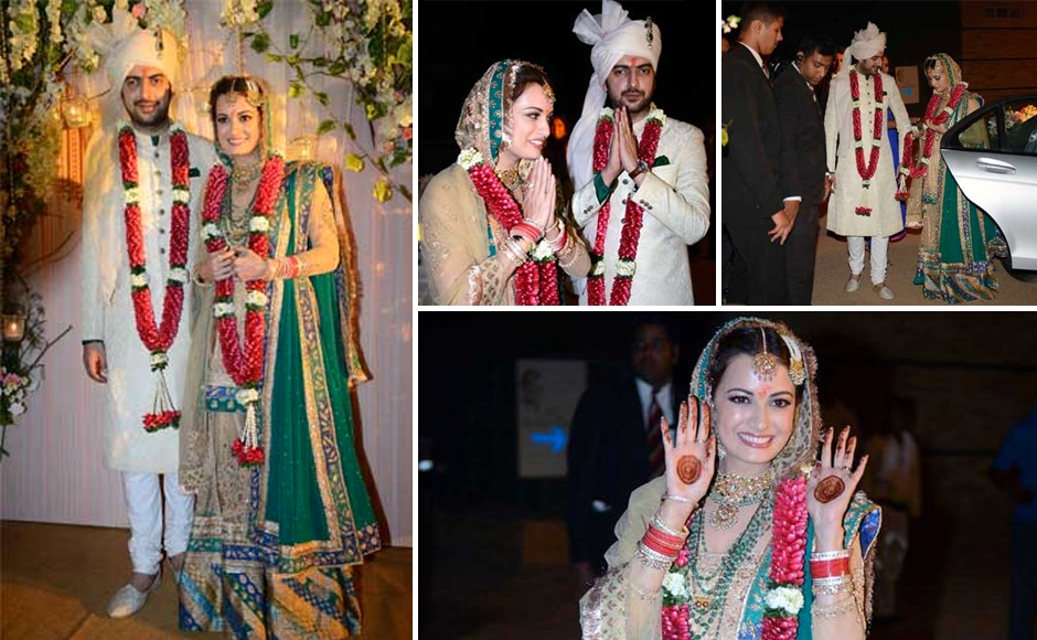 Diya Mirza Wedding Day Pics