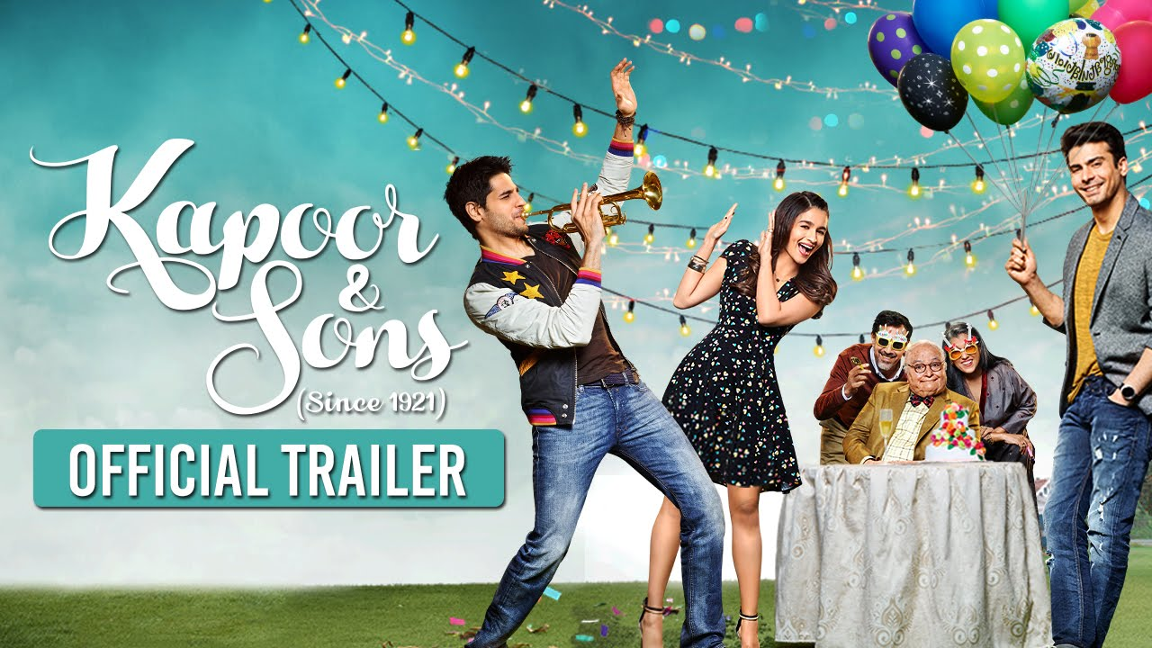 Kapoor & Sons Trailer Review: A Whirlwind of Emotions!
