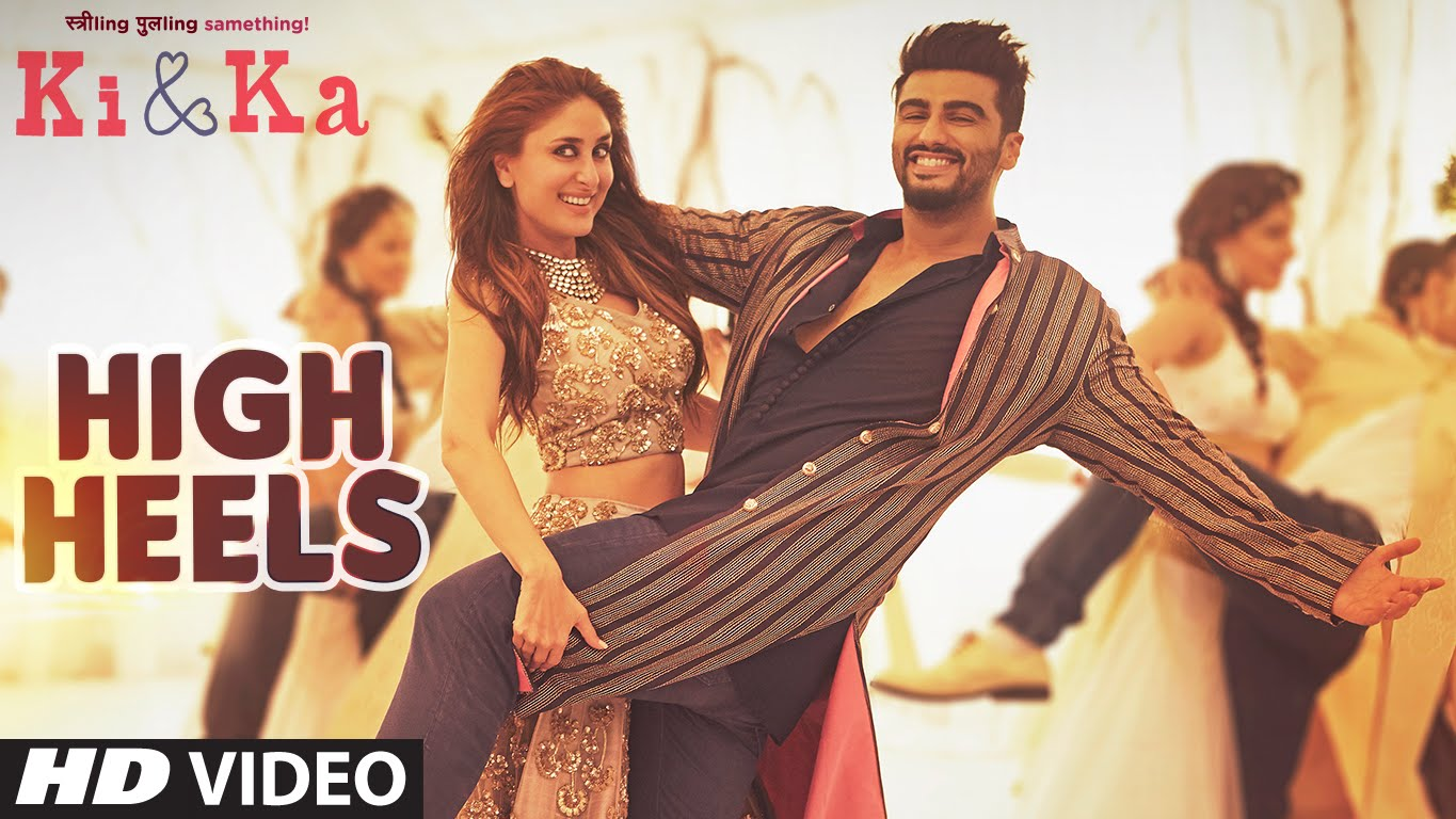 Watch | Arjun Kapoor wears 'High Heels' for the first song from Ki & Ka!