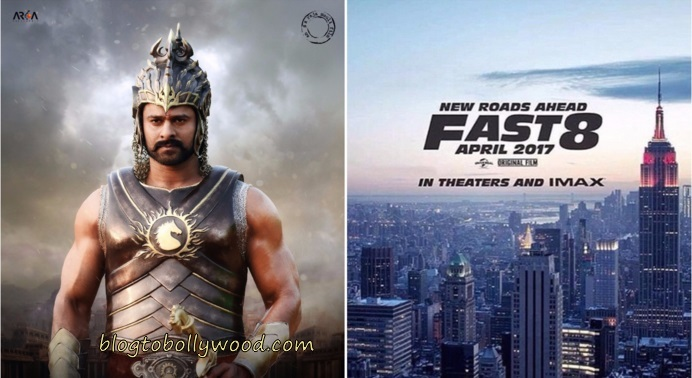 Baahubali 2 To Clash With Fast and Furious 8 On 14 April 2017