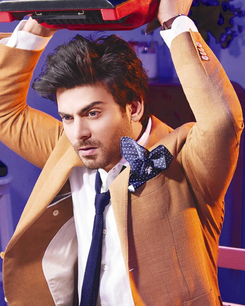 Fawad Khan on the cover of The Man makes our heart beat faster and faster!- Fawad 3