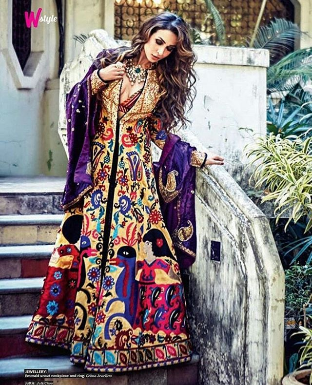 Malaika Arora Khan latest photoshoot for Femina Wedding Times March 2016 Edition