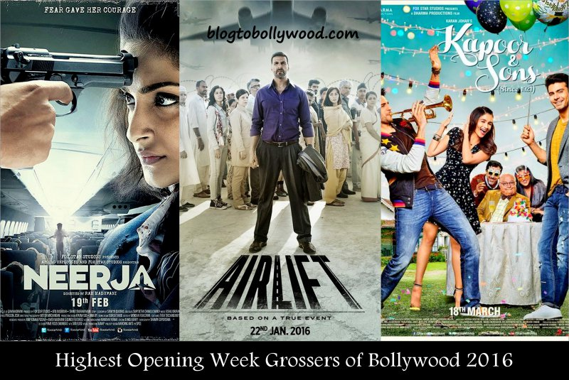Bollywood box office highest opening week collection 2016 - Highest box office collection bollywood ...