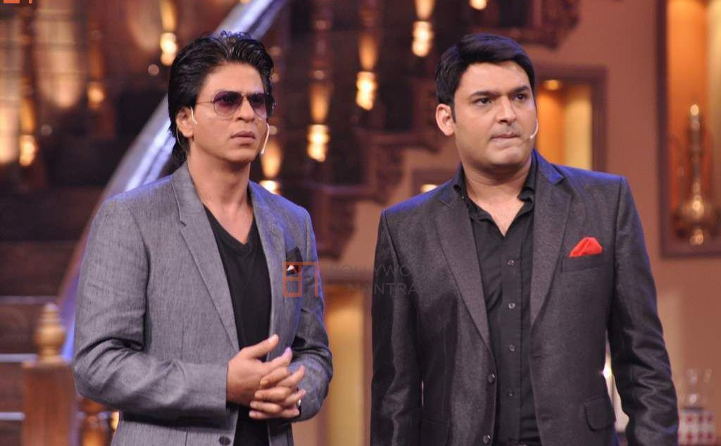 SRK and Kapil Sharma Shoots The Promo Of 'The Kapil Sharma Show'