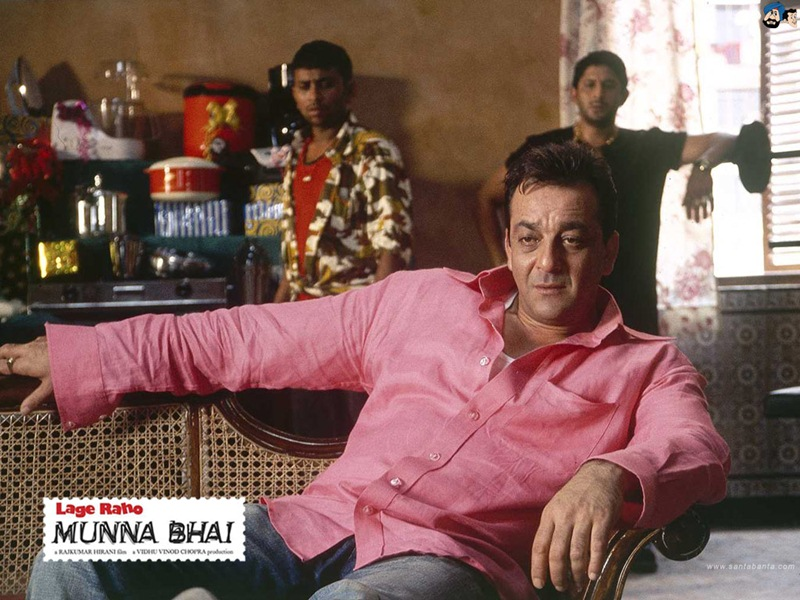 10 Most Iconic Bollywood Characters- Munnabhai