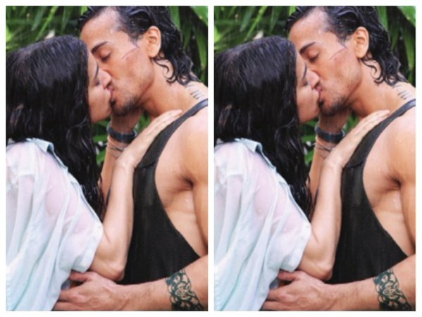 Tiger Shroff and Shraddha Kapoor shared a steamy lip-lock in Baaghi!- Shraddha and Tiger