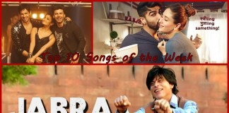 Top 10 Bollywood Songs of the Week | 07-March-2016 to 13-March-2016