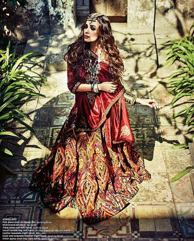 Malaika Arora Khan in Femina Wedding Times March 2016 Edition