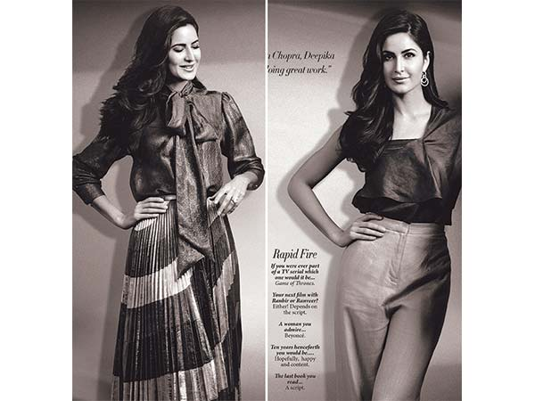 Katrina Kaif in L'Officiel Magazine's March Cover