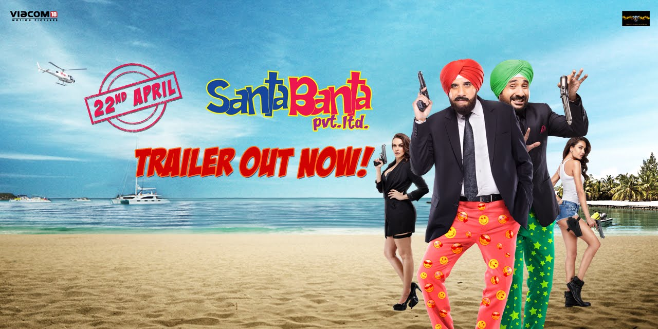 Santa Banta Pvt. Ltd. Trailer Review- It's going to be a laughter riot!