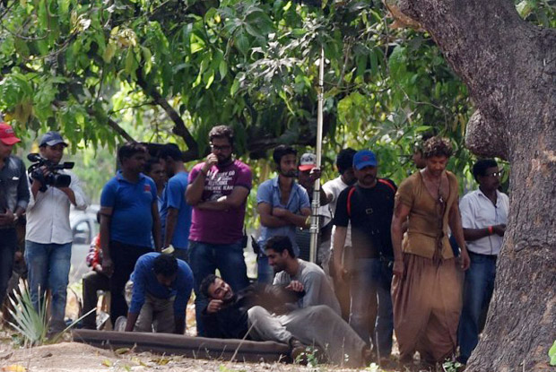 Hrithik Shooting for Mohenjo Daro
