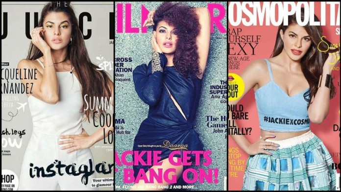 Jacqueline Fernandez sizzles the cover of three different magazines this month!