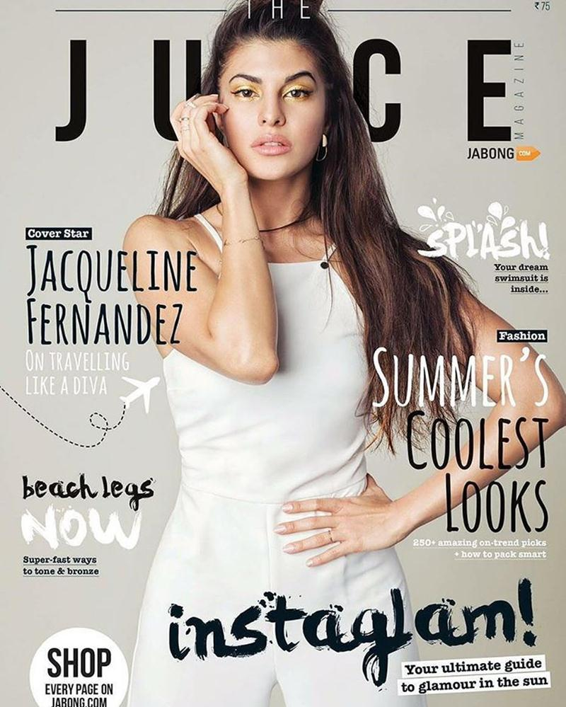Jacqueline Fernandez sizzles the cover of three different magazines this month!- The Juice