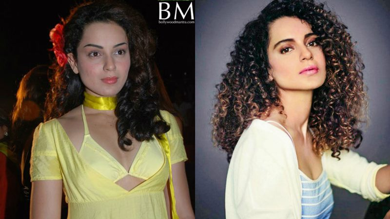 Bollywood Actresses Then and Now | How they have changed with time- Kangana Then and Now.