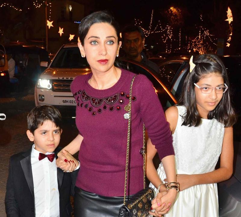 Top 10 News of the Week- Straight from the streets of Tinsel Town!- Karisma with her kids