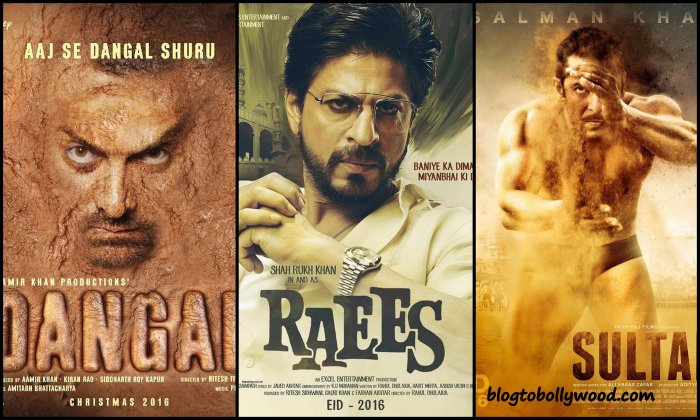 Raees Vs Dangal Vs Sultan: Which movie has a better first look?