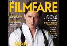 Shah Rukh Khan takes off his mask for Filmfare April CoverShah Rukh Khan takes off his mask for Filmfare April Cover