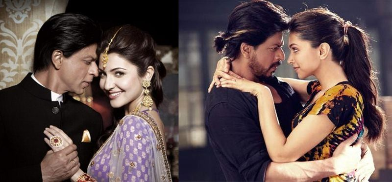 Shah Rukh Khan will romance Anushka Sharma & Deepika Padukone again this year!