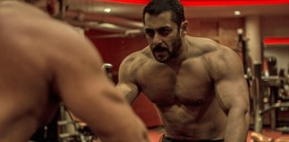 Salman Khan Working Out In Gym For Sultan