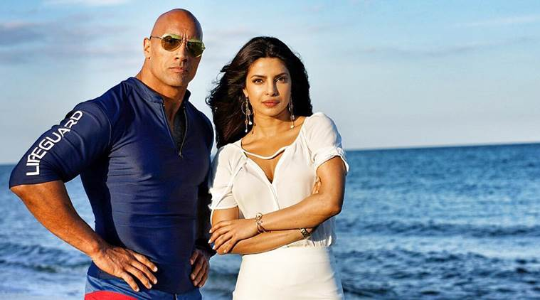 The Rock and Priyanka Chopra