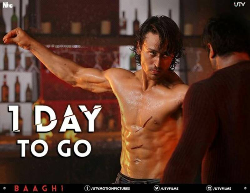 5 Reasons why you need to watch Baaghi: A Rebel For Love this weekend - Tiger Shroff