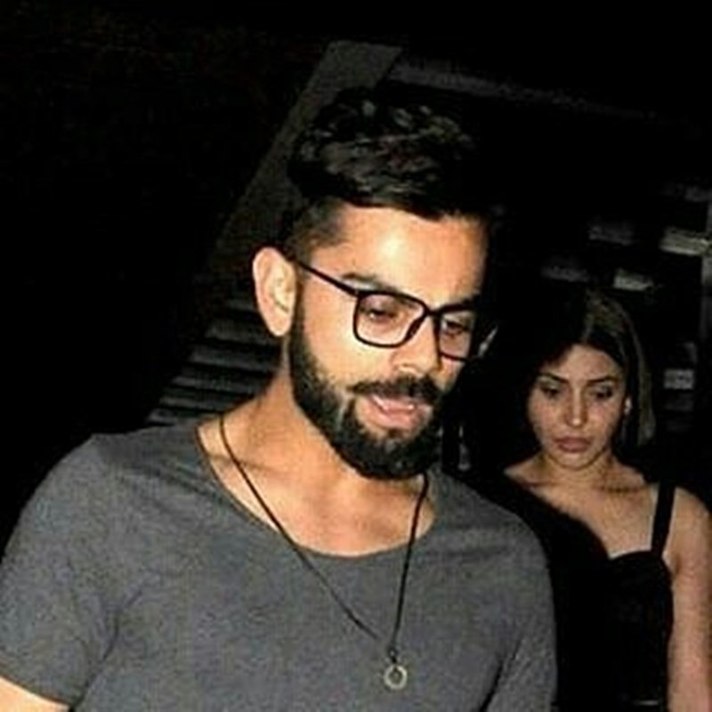 Spotted: Anushka Sharma and Virat Kohli having a late dinner together- Virushka 3