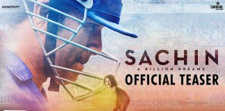 Witness how Sachin became 'The' Sachin Tendulkar in Sachin: A Billion Dreams teaser