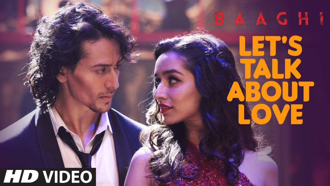 Tiger and Shraddha teach us how to dance in 'Let's Talk About Love'