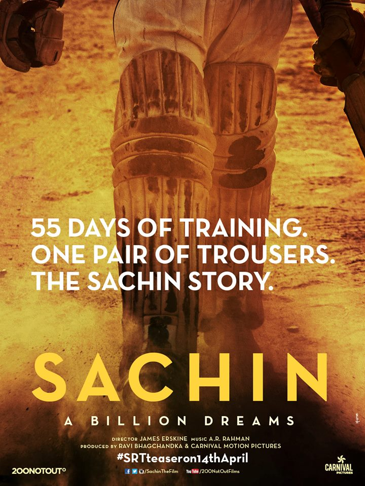 Poster of Sachin- Film based on Sachin Tendulkar