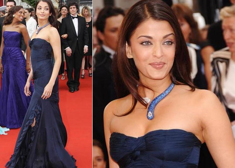 Aishwarya Rai Bachchan and Sonam Kapoor's various looks at Cannes over the years- Aish 2006