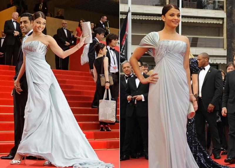 Aishwarya Rai Bachchan and Sonam Kapoor's various looks at Cannes over the years- Aish 2009 2
