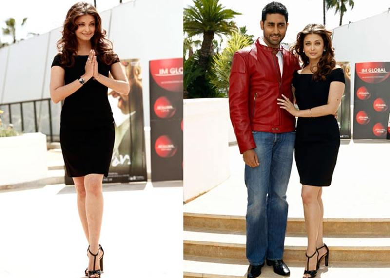 Aishwarya Rai Bachchan and Sonam Kapoor's various looks at Cannes over the years- Aish 2010 1