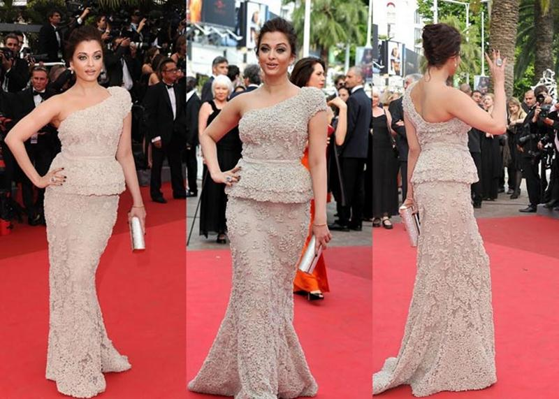 Aishwarya Rai Bachchan and Sonam Kapoor's various looks at Cannes over the years- Aish 2011 1