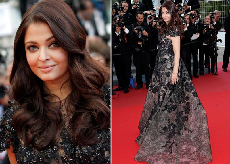 Aishwarya Rai Bachchan and Sonam Kapoor's various looks at Cannes over the years- Aish 2013 2