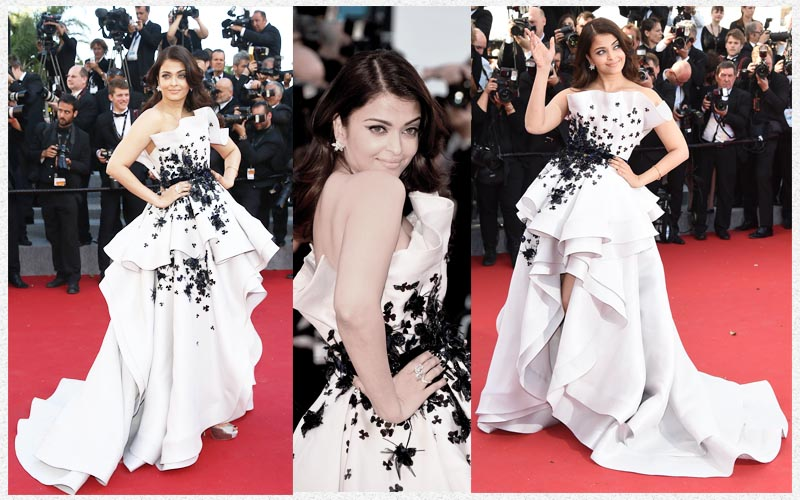 Aishwarya Rai Bachchan and Sonam Kapoor's various looks at Cannes over the years- Aish 2016 5