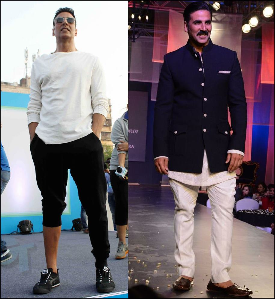 Most Stylish Men Of Bollywood - Akshay Kumar