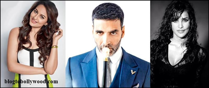 Akshay Kumar to romance both Sonakshi Sinha and Aisha Sharma in Namastey England