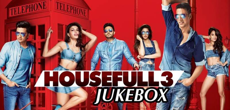 Housefull 3 Music Review and Soundtrack – Not as good as the prequels