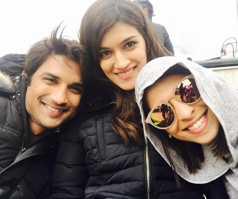 Top 10 Bollywood Pictures of the Week | 15-May-2016 to 21-May-2016- Kriti Sushant