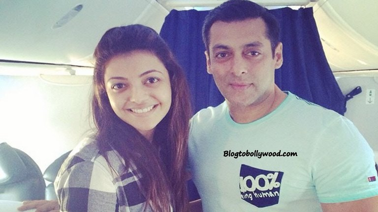 Salman Khan Is My Childhood Crush: Kajal Aggarwal