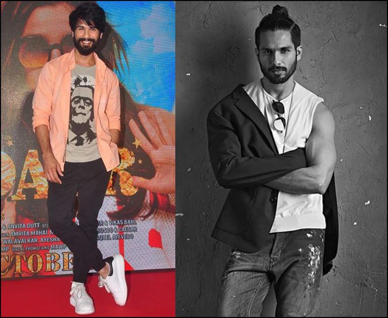 Most Stylish Men Of Bollywood - Shahid Kapoor