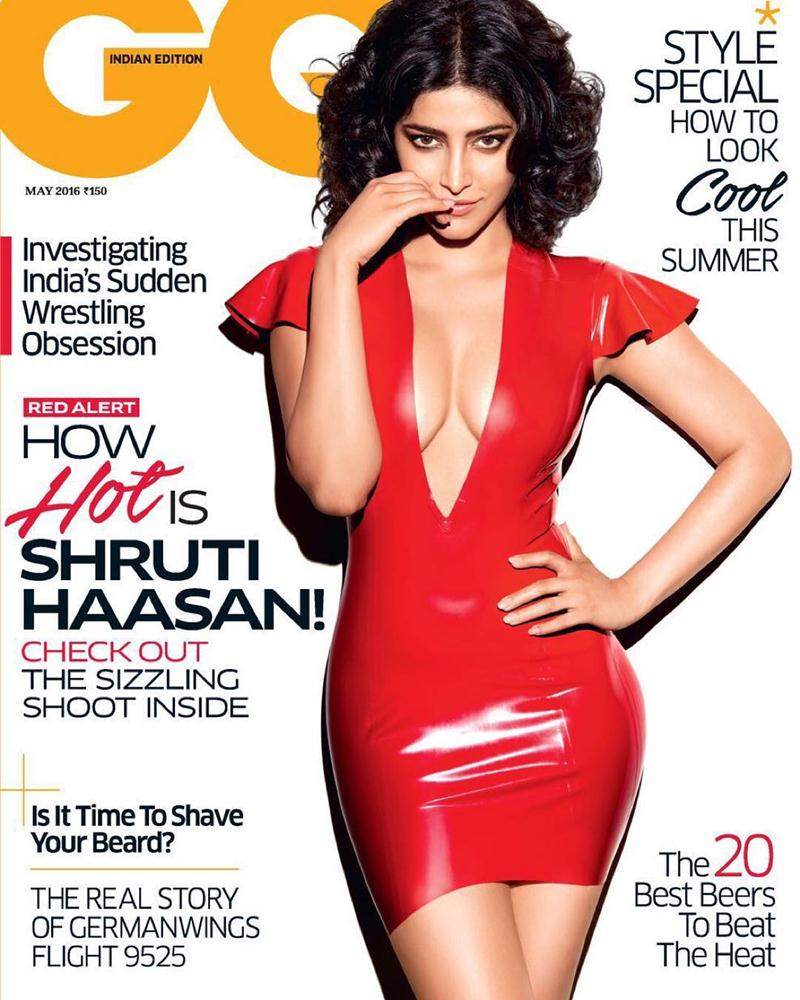 This GQ cover featuring Shruti Haasan is skimpy as hell!