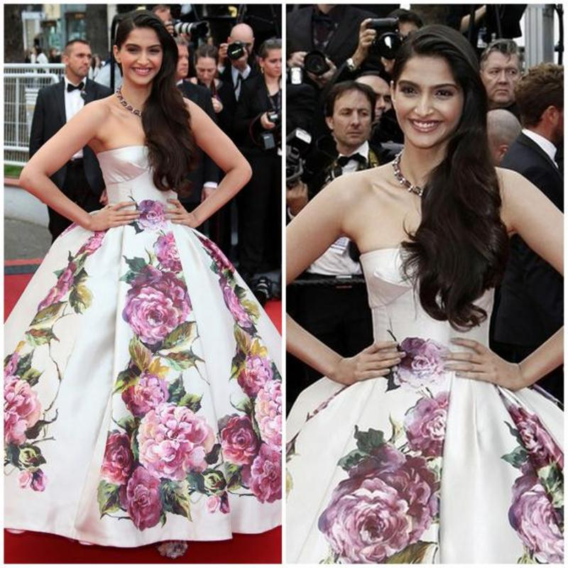 Aishwarya Rai Bachchan and Sonam Kapoor's various looks at Cannes over the years- Sonam 2013 2